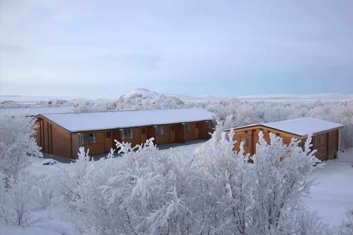 Vogafjós Farm Resort by Lake Mývatn - 2 guests