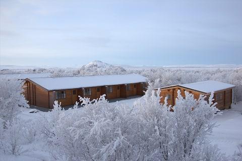 Vogafjós Farm Resort by Lake Mývatn - 2 guests