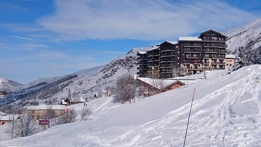 ski Les Ménuires 4 à 6 personnes