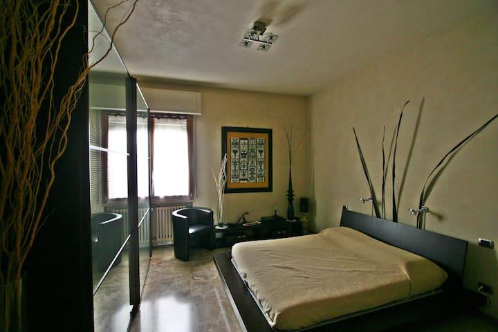camera letto al piano terra - Isola della Scala