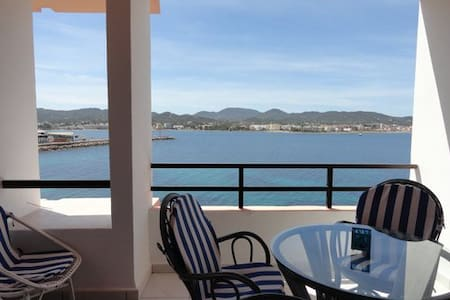 Great location! Cozy and seaviews! - Sant Antoni de Portmany - Lägenhet