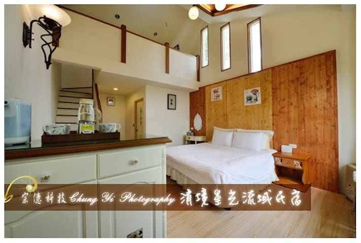 Cozy mezzanine for 4 in Cingjing - Ren'ai Township