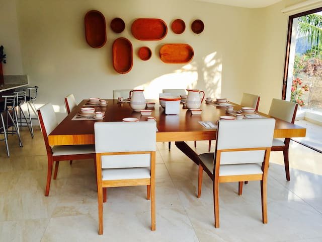 Luxury Private Family House with pool in Golf Club - Ixtapa Zihuatanejo - Casa