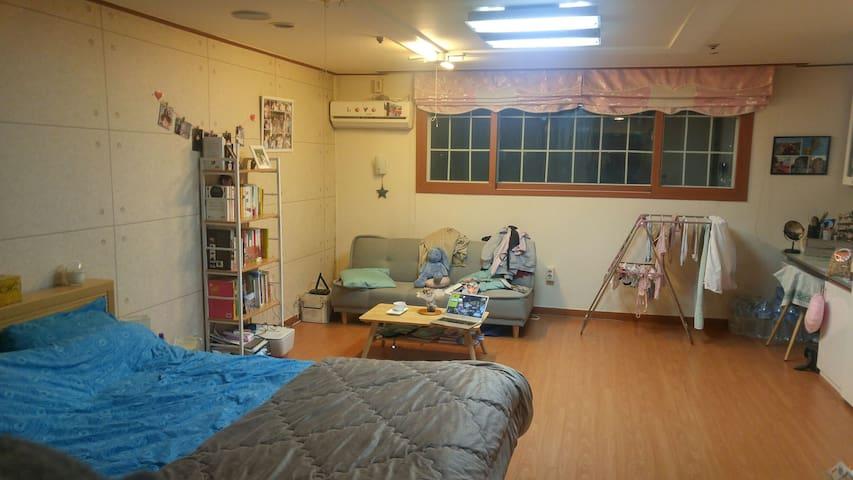 은평구 넓은 원룸- A large Studio in Seoul - 서울특별시 - Huoneisto