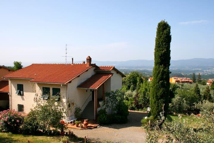 Casa Pagni, appartamento in villa - REGGELLO - Pietrapiana - Apartemen