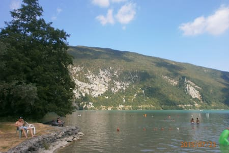Mobilhome Camping Lac Aiguebelette - Domek parterowy