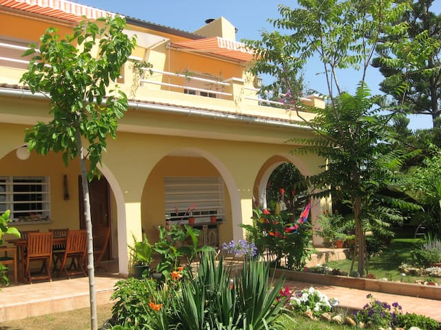 Holiday air-conditioned villa with pool