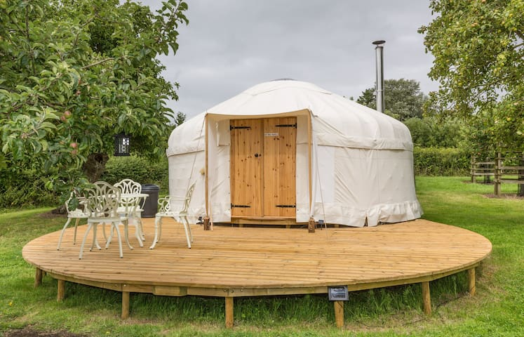 Somerset Orchard Yurt