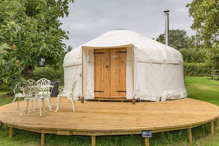 Somerset Orchard Yurt - Wedmore - ユルト