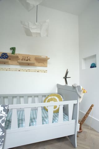 Kids room, over here we can also make double bedroom.