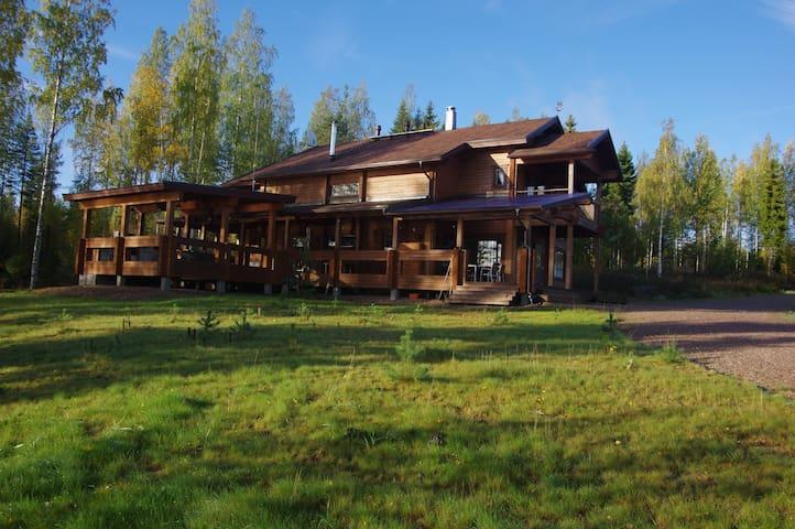 Villa LAHTI, на озере SAIMAA
