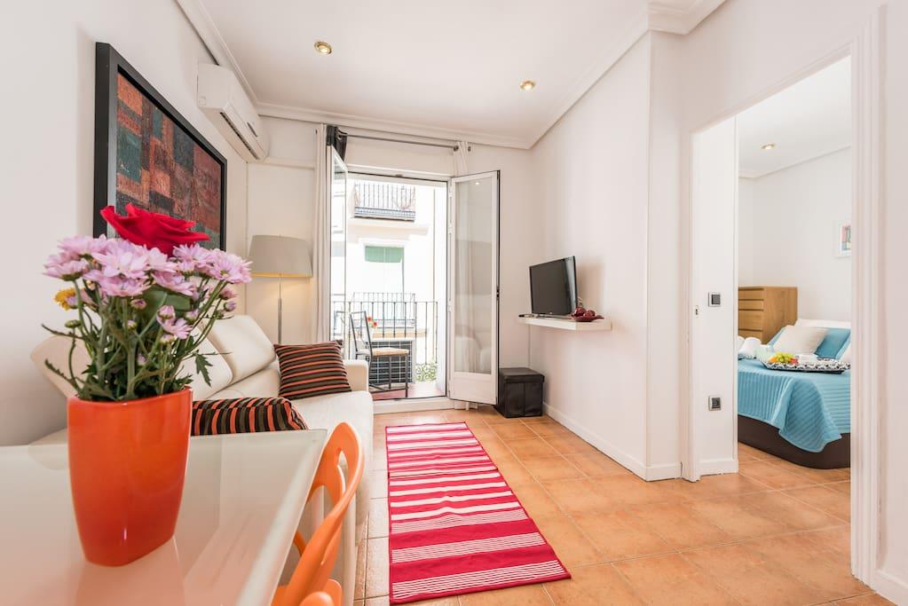 Piso madrid centro malasa a apartamentos en alquiler en for Piso turistico madrid