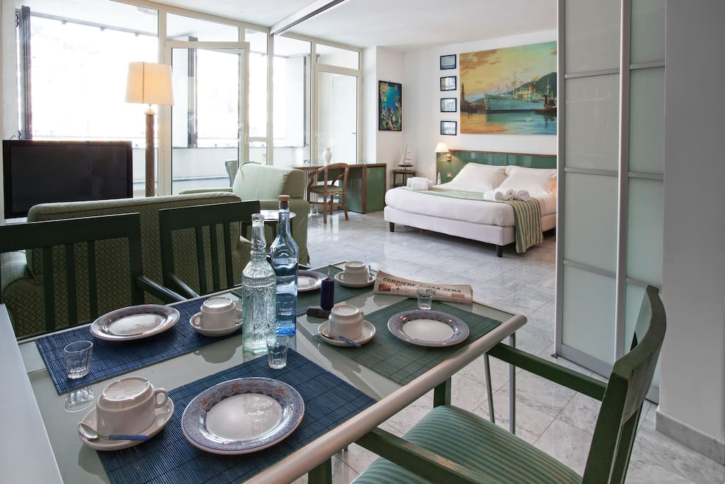 Furnished Apartments Genoa Italy