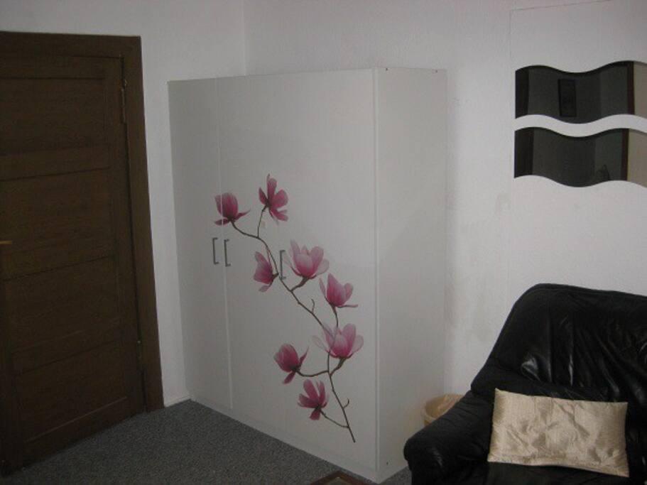 Schrank-Eingangstür