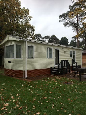Spacious Caravan in the beautiful New Forest.