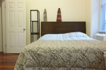 Large Queen Bedroom in Union Square