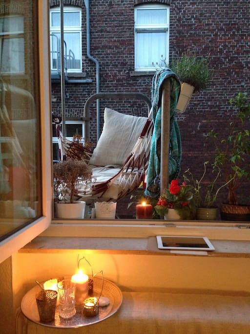 Cute little balcony perfect to relax