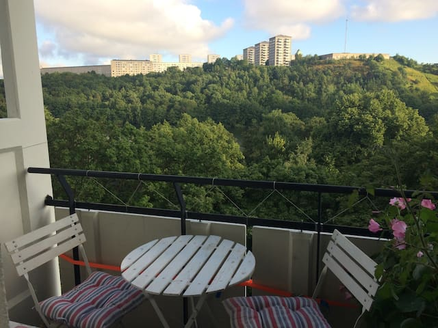 Among the Tree Tops, by the Lake - Stockholm - Appartement