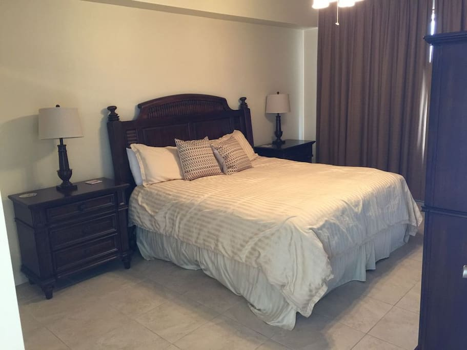 Master Bedroom with King Size Bed, TV & DVD!