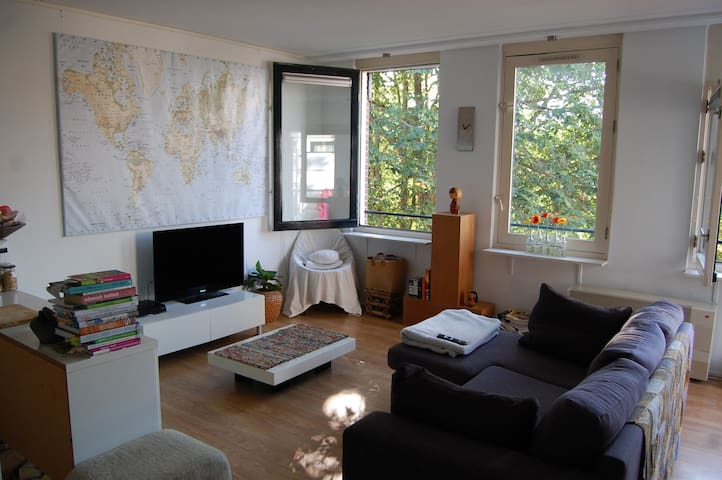 Cosy studio in Amsterdam East with small balcony - Amsterdam - Leilighet