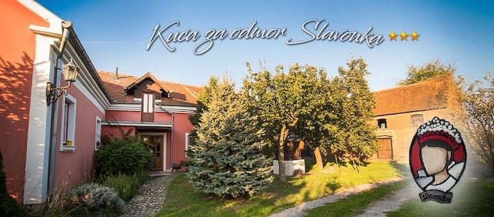 Prostrana i lijepa kuća za odmor u prirodi.