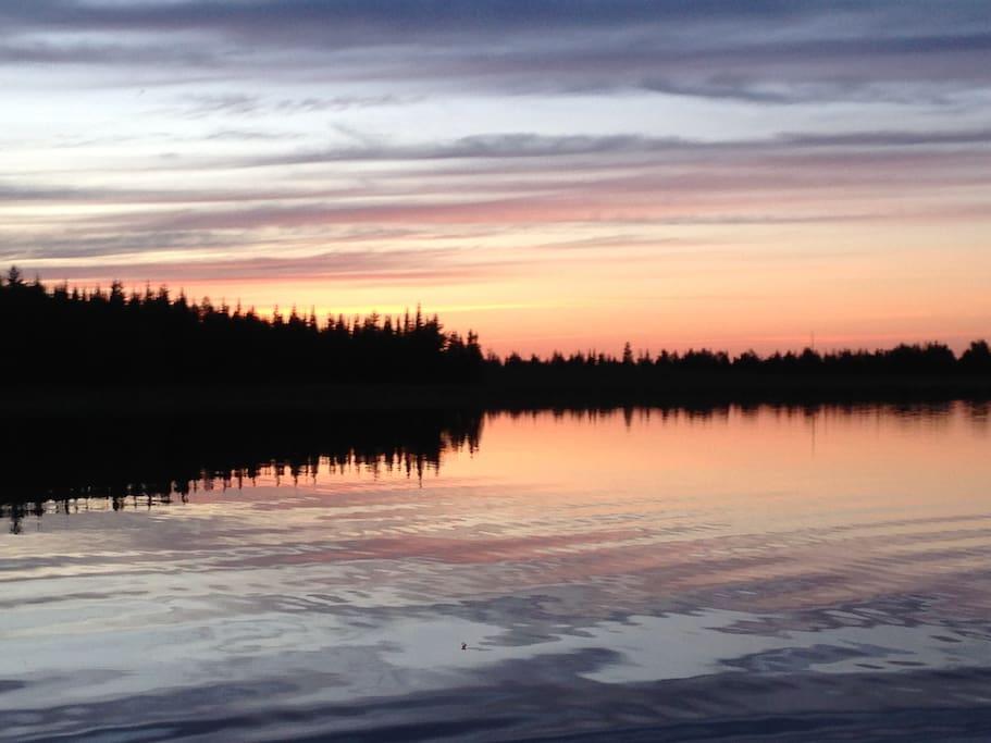 beautiful scenic sunsets