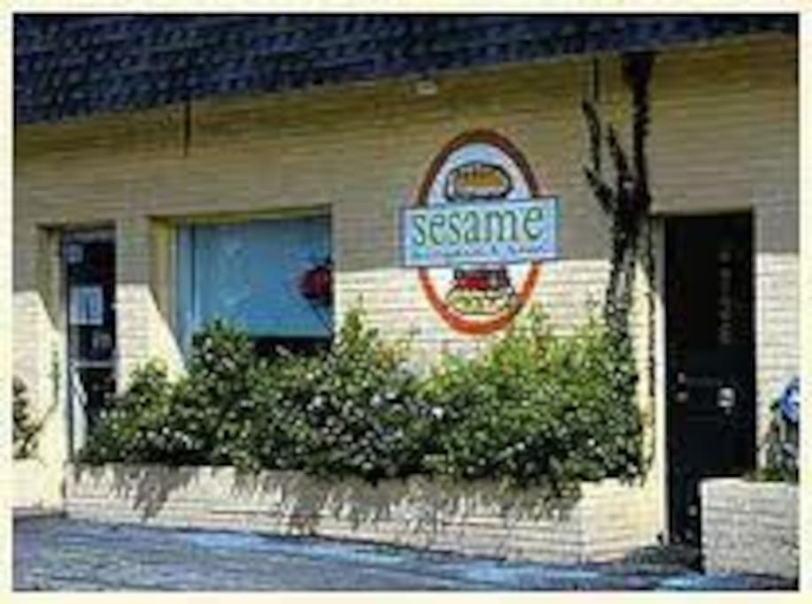 Sesame is kind of local favorite that is 2 minutes from my house.  Wednesday is $3 dollar burger night, yum!