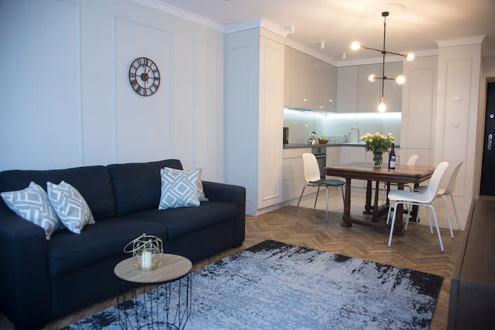 Stylish apartment and great location. City Center