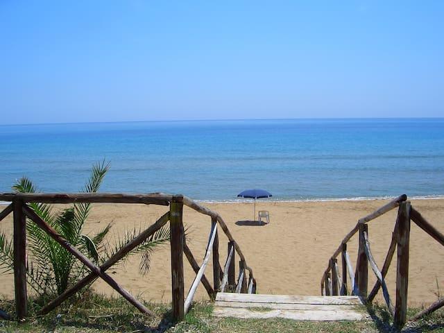 (A)MARE CAPO RIZZUTO SPIAGGIA TOP CALABRIA ITALY - Isola di Capo Rizzuto - Lejlighed