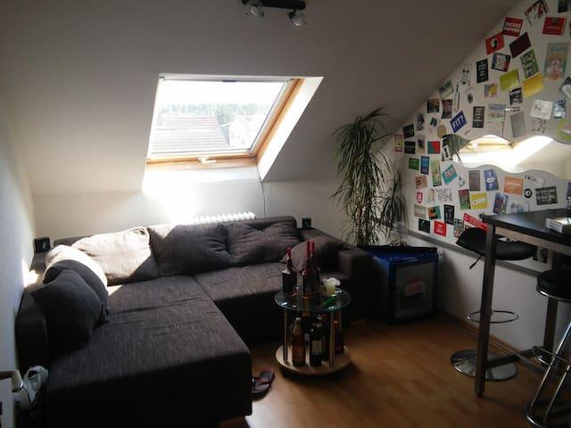 Schlafcouch in Rüsselsheim - Rüsselsheim - Apartment