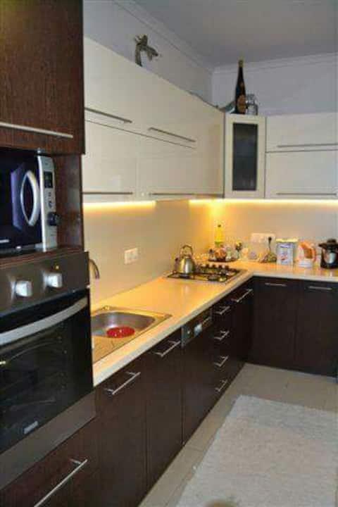 Otthonos modern 2 szobás lakás.