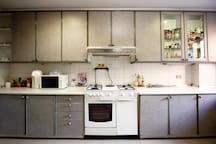 Fully-equipped  Kitchen.