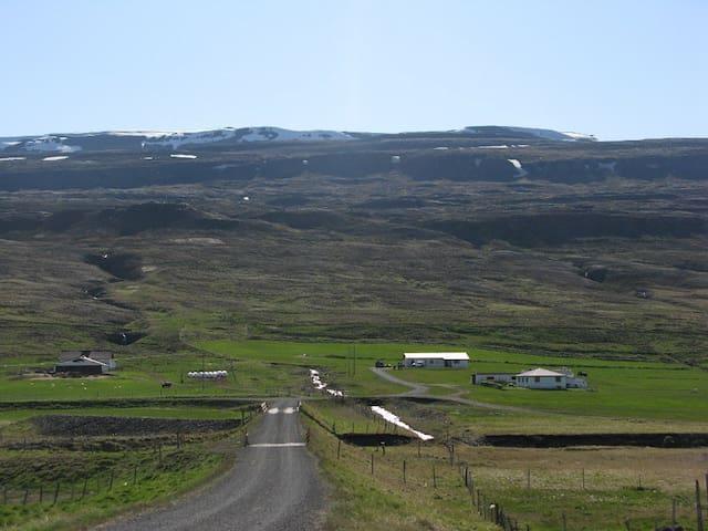 3#Smaller room in a cosy farmhouse - Skagafjörður - Pousada