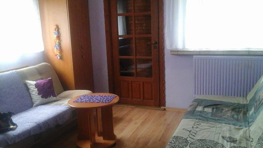 Accomodation in house near the lake - Oświęcim - Бунгало