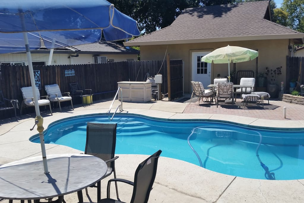 Pool for your enjoyment 10 am -       8 pm - also barbque