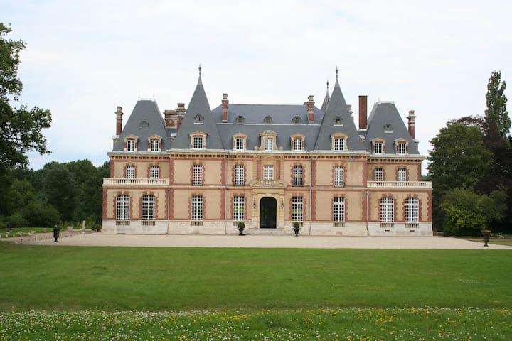 Chambre au Château des Boulard - Mignières - Bed & Breakfast