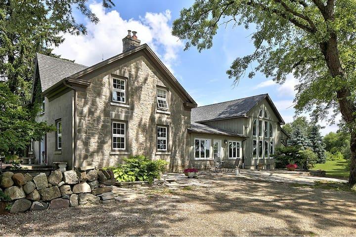 Stone Farm House on Biodynamic Farm