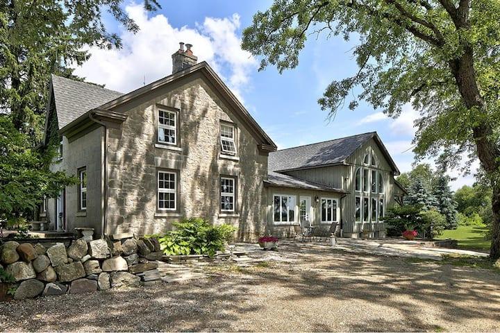 Stone Farm House on Glencolton Farm