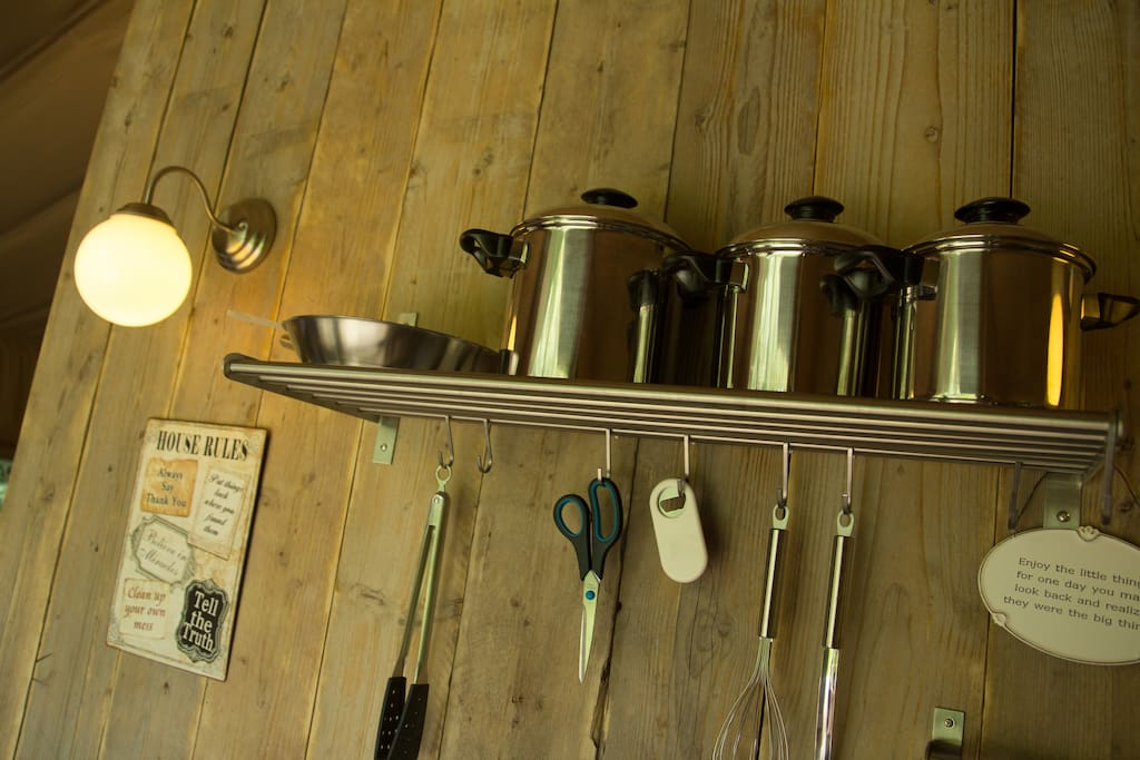 ingerichte keuken