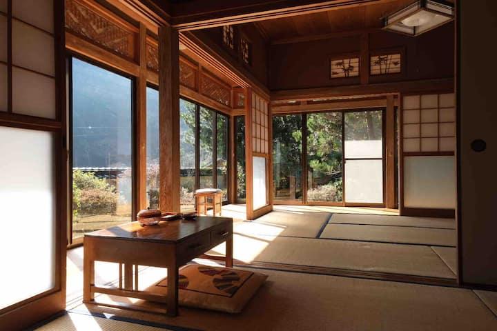 Tatami-Room in Shimanto Riverside Hideaway
