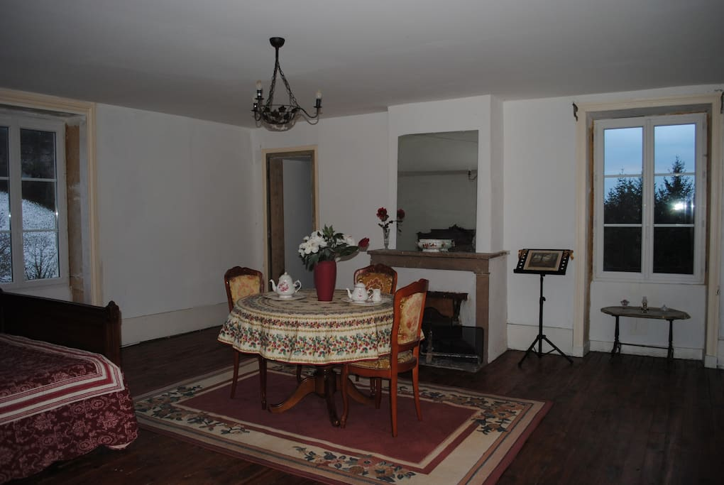 Chambre numéro 1 en location; possibilité 3 personnes