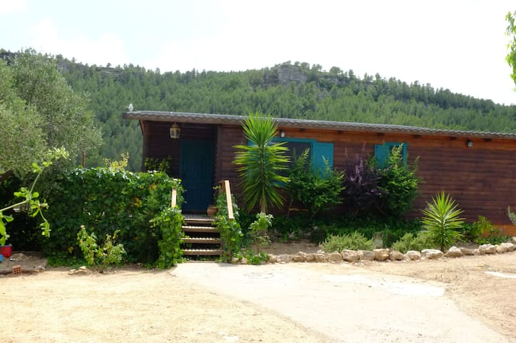 Cozy wooden house in the countryside - Mont-roig del Camp - Hus