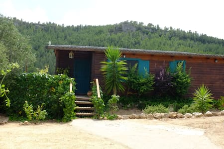 Cozy wooden house in the countryside - Mont-roig del Camp - Dom