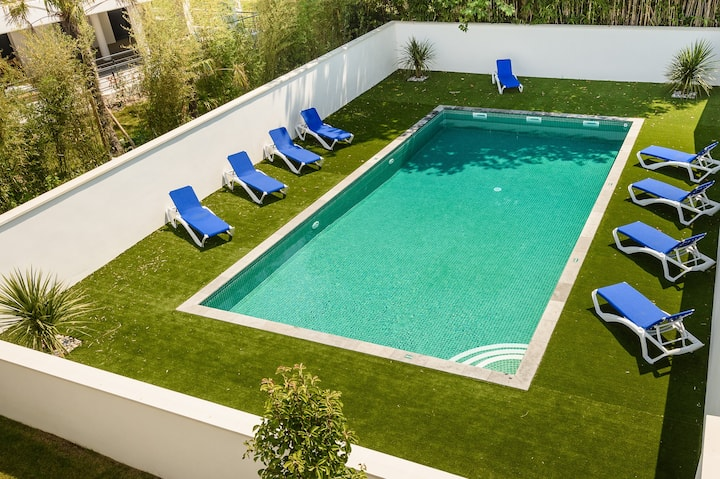 ANGLET Plages/5 cantons Maison 5P/8pers. piscine