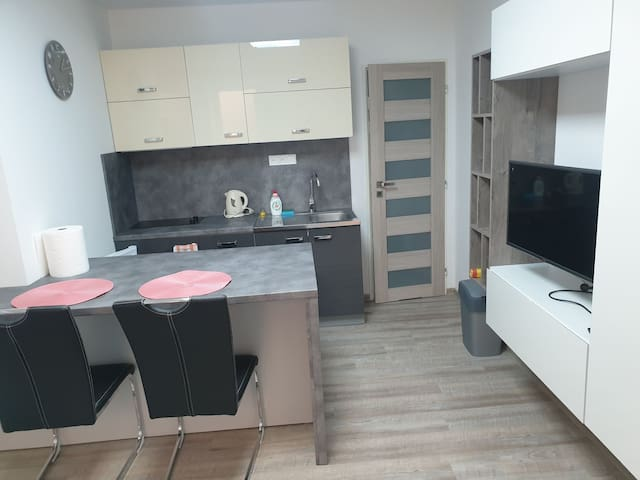 verry small flat in city center Zilina