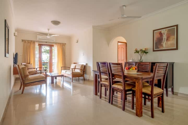 2BHK Luxury Sea-facing Apartment in Miramar