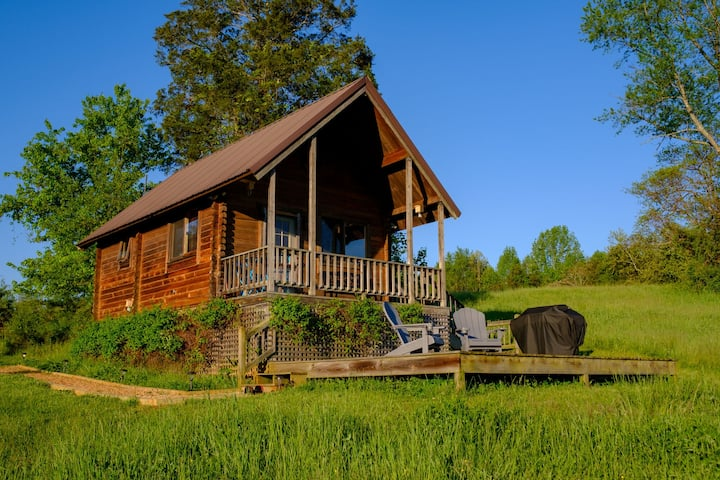 Cabin Escape*Mountain Views*River*Grill*Fire Pit
