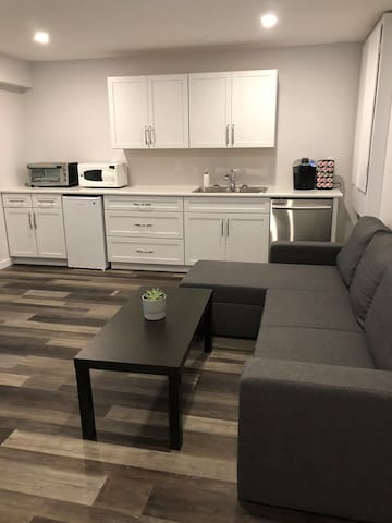 Your living room/ kitchen