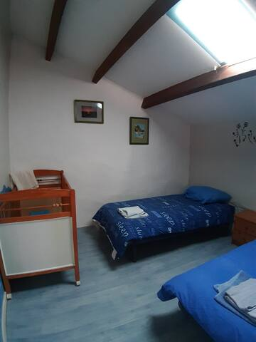 Gite 5 · 3 bedroom cottage with pool and garden.
