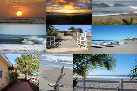 Villa Vadasz - Beachfront Paradise - Salinas Grandes